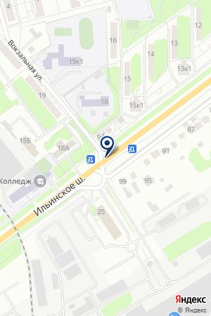 АВТОСЕРВИСНОЕ ПРЕДПРИЯТИЕ MERCEDES BENZ на карте Красногорска