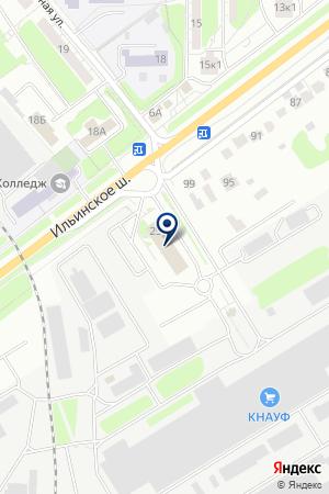 ПИЦЦЕРИЯ НА ТИГИ на карте Красногорска
