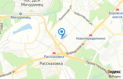 Местоположение на карте пункта техосмотра по адресу г Москва, ул Скульптора Мухиной, д 18