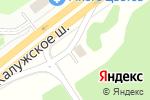 Схема проезда до компании Элекснет в Ватутинках