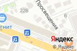Схема проезда до компании Стольник в Анапе