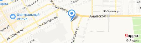 Зоосфера на карте Анапы