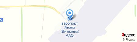S7 на карте Анапы