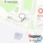 Магазин салютов Ново-Переделкино- расположение пункта самовывоза