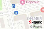 Схема проезда до компании Осетинские пироги в Московском