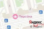Схема проезда до компании Сервисный центр в Московском