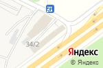 Схема проезда до компании Шиномонтажная мастерская в Ватутинках