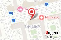 Схема проезда до компании Пикабу в Московском