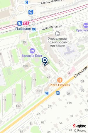 РЕМОНТНАЯ МАСТЕРСКАЯ ТЕССИ на карте Красногорска