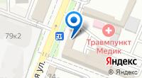 Компания Мир посуды на карте