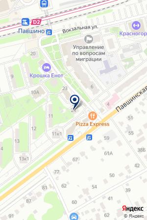ТД ТЕПЛОВ А.В. на карте Красногорска
