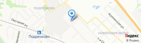 Подрезковская поликлиника на карте Химок