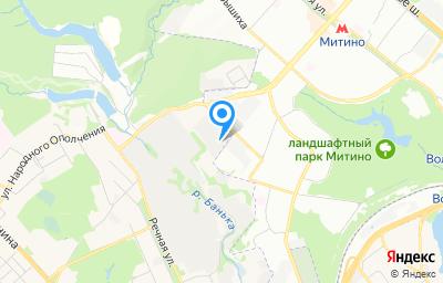 Местоположение на карте пункта техосмотра по адресу Московская обл, г Красногорск, тер коммунальная зона Красногорск-Митино, д 10