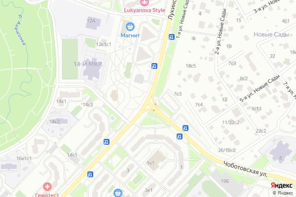 Ремонт телевизоров Улица Лукинская на яндекс карте