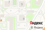 Схема проезда до компании Deauville в Ромашково