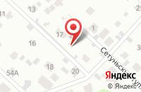 Схема проезда до компании Юникс в Одинцово