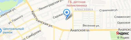 Анапка.ру на карте Анапы