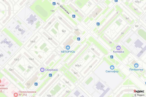 Ремонт телевизоров Улица Скульптора Мухиной на яндекс карте