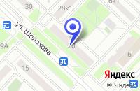 Схема проезда до компании ПТФ СКОРПИОН в Москве