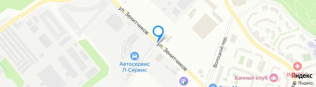улица Зенитчиков
