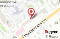 Схема проезда до компании События в Красногорске