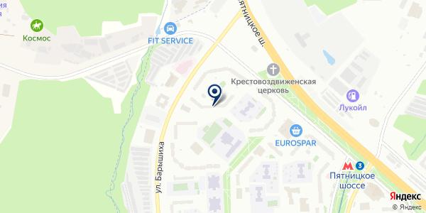 МИТИНО-12 на карте Москве