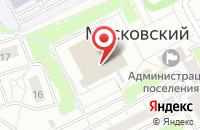 Схема проезда до компании Кинотеатр выходного дня в Московском