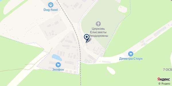 Лесград на карте Москве