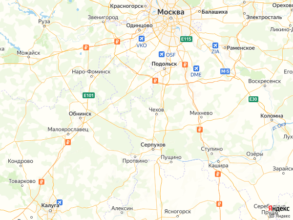 деревня Хлевино на карте