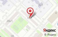 Схема проезда до компании Колфо в Москве