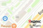 Схема проезда до компании ULMART.RU в Москве