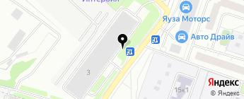 ДАРД-Авто на карте Москвы