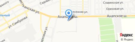 Банкомат Райффайзенбанк на карте Анапы