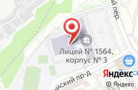 Схема проезда до компании Индевер в Москве
