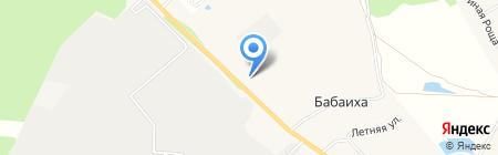 Габо на карте Бабаихи