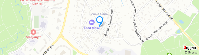 улица Новые Сады 5-я