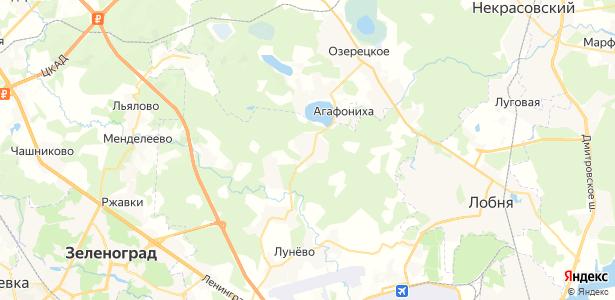 Мышецкое на карте