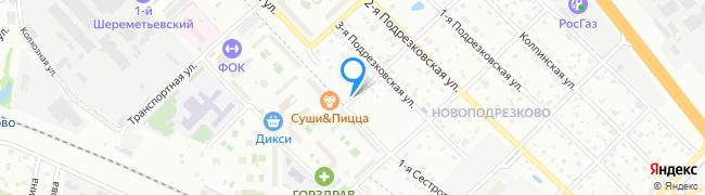 улица Сестрорецкая 1-я