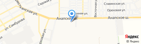 ЭЛЬДОРАДО на карте Анапы