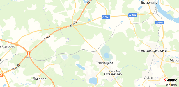 Бабаиха на карте