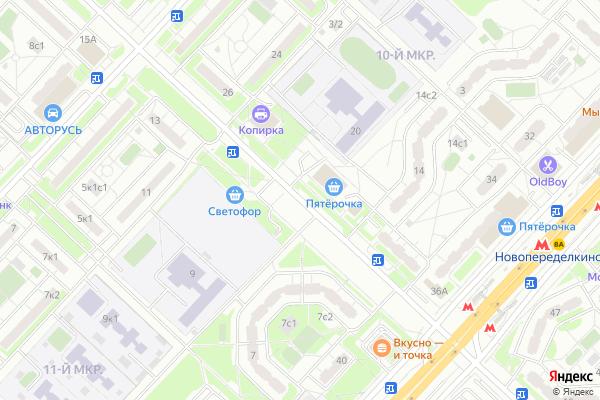 Ремонт телевизоров Улица Шолохова на яндекс карте