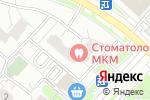 Схема проезда до компании КБ Гагаринский в Москве