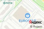 Схема проезда до компании Точка Красоты в Москве