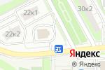 Схема проезда до компании РЕСО-Гарантия, СПАО в Московском