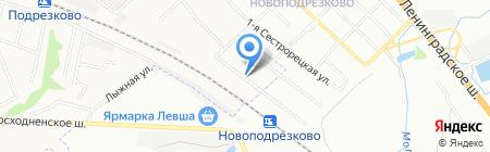 Киоск по продаже колбасных изделий на карте Химок