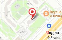 Схема проезда до компании ОптСервис в Москве