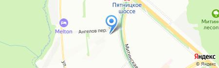 Дисконт-Тур на карте Москвы