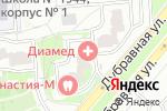 Схема проезда до компании ФЕМИЛИ ДЕНТ в Москве