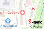 Схема проезда до компании Нотариус Борискина Е.А. в Москве
