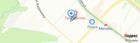Средняя общеобразовательная школа №1747 с дошкольным отделением на карте Москвы